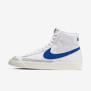 White Blazer Shoes. Nike NO
