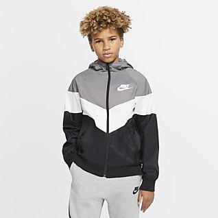 Nike Sportswear Windrunner Jakke til store barn
