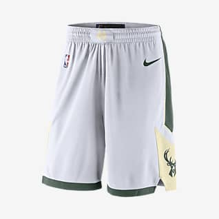 Milwaukee Bucks Nike NBA Swingman Shorts für Herren