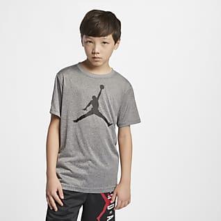 Jordan Jumpman Dri-FIT Playera de manga corta para niños talla grande