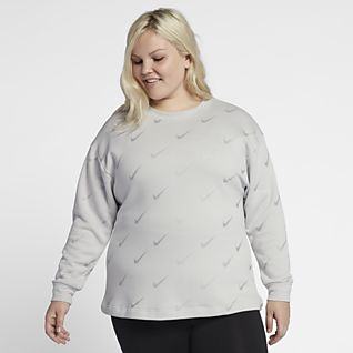 Nike Sportswear Rally Women's Metallic Crew (Plus Size)