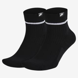 Nike Essential Calcetines cortos (2 pares)
