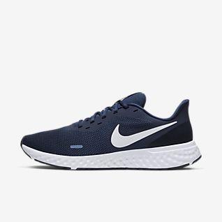 zapatillas nike hombre azules y grises