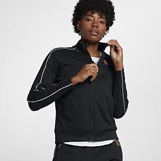 NikeCourt Chamarra de tenis para mujer