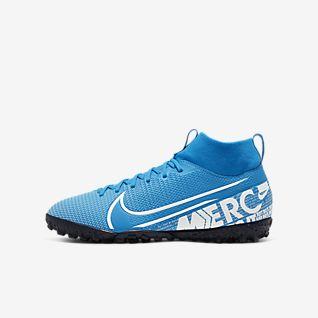 Nike Jr. Mercurial Superfly 7 Academy TF Botas de fútbol para moqueta - Turf artificial - Niño/a y niño/a pequeño/a
