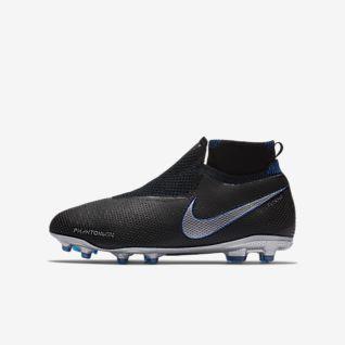 Nike Jr. Phantom Vision Elite Dynamic Fit MG Fodboldstøvle til store børn til flere typer underlag