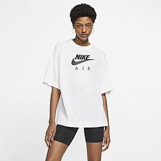 Women's White Tops \u0026 T-Shirts. Nike GB