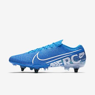 Nike Mercurial Vapor 13 Elite SG-PRO Anti-Clog Traction Chaussure de football à crampons pour terrain gras
