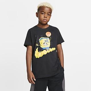 Nike Dri-FIT Kyrie SpongeBob 大童(男孩)篮球T恤
