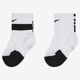 Nike Dri-FIT Elite Calcetines largos para niños talla pequeña