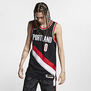 Damian Lillard Trail Blazers Icon Edition Nike NBA Authentic Jersey