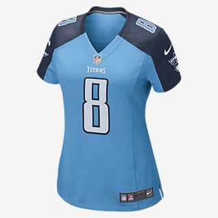 NFL Tennessee Titans Game Jersey (Marcus Mariota) Women's Football Jersey
