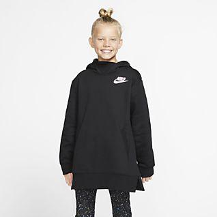 Nike Sportswear Big Kids' (Girls') Fleece Top