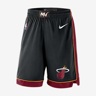 Miami Heat Icon Edition Nike NBA Swingman Shorts für Herren