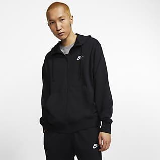Nike Sportswear Club Sudadera con capucha de cierre completo para hombre