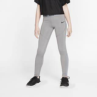 Nike Pro Mallas para niñas talla grande