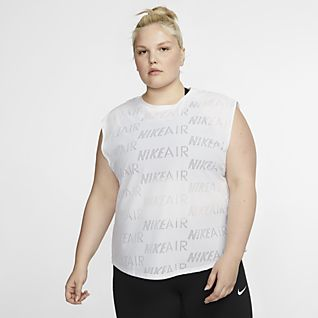 Nike Air Women's Short-Sleeve Running Top (Plus Size)
