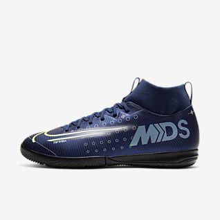 Nike Jr. Mercurial Superfly 7 Academy MDS IC Fußballschuh für Hallen- und Hartplätze für jüngere/ältere Kinder