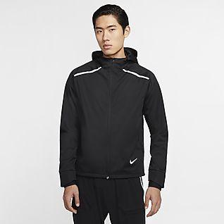 Nike Shield 男子跑步连帽夹克
