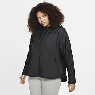 Nike Sportswear Windrunner Jacka för kvinnor (stora storlekar)