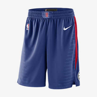 Los Angeles Clippers Icon Edition Nike NBA Swingman Shorts für Herren