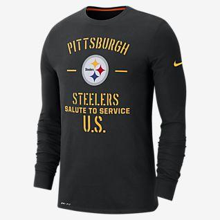 Nike Mens Pittsburgh Steelers Logo Essential 3 Tee