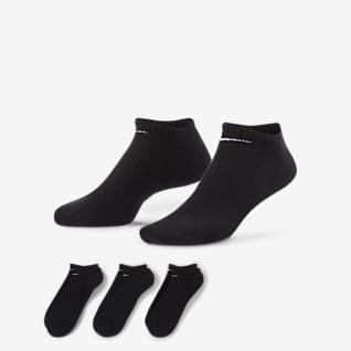 Nike Everyday Cushioned Calcetines invisibles de entrenamiento (3 pares)