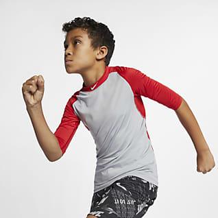 Nike Pro Playera de bésibol para niños talla grande