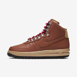 Castanho Air Force 1 Sapatilhas. Nike PT