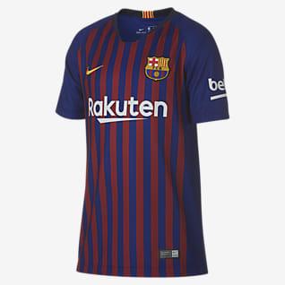 2018/19 FC Barcelona Stadium Home Футбольное джерси для школьников
