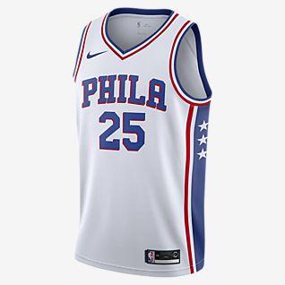 费城 76 人队 (Ben Simmons) Association Edition Nike NBA Jersey 男子球衣