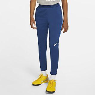 Nike Dri-FIT Strike Fotballbukse til store barn (gutt)