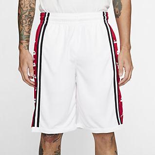 Hommes Blanc Basketball Shorts. Nike FR