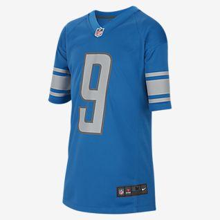 NFL Detroit Lions (Matthew Stafford) Big Kids' Game Football Jersey