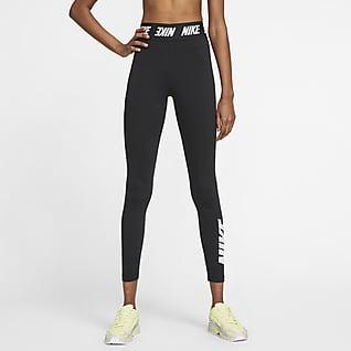 Nike Sportswear Club Leggings med høj talje til kvinder