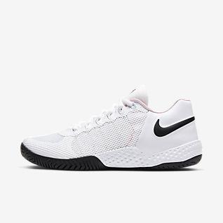 womens white nike gym shoes