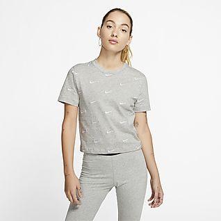 Nike T-shirt con logo Swoosh - Donna
