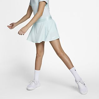 Piger Tennis Nederdele og kjoler. Nike DK