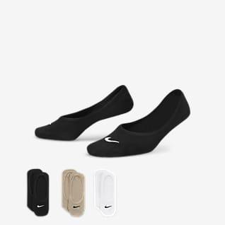 Nike Everyday Lightweight Socquettes ouvertes de training pour Femme (3 paires)