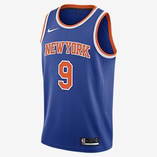 RJ Barrett Knicks Icon Edition Nike NBA Swingman Jersey för män