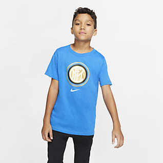Inter Milan Tee-shirt de football pour Enfant plus âgé