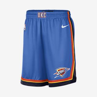 Oklahoma City Thunder Icon Edition Men's Nike NBA Swingman Shorts