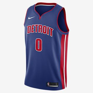 Andre Drummond Pistons Icon Edition Camiseta Nike NBA Swingman