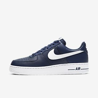 nike air force basse blu