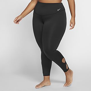Nike Yoga 7/8-tights voor dames (grote maten)