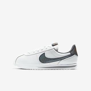 White Cortez Sko. Nike NO