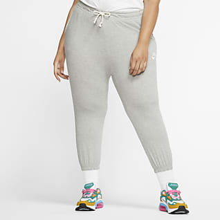 Nike Sportswear Pantalones capri de tiro medio para mujer talla grande