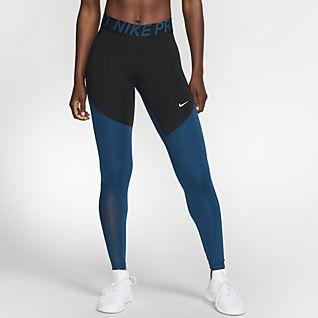 pantaloni nike donna blu