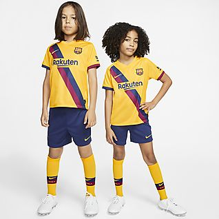 FC Barcelona Away Set für jüngere Kinder