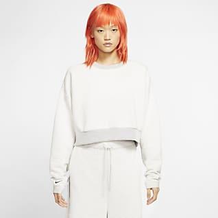 Nike Sportswear City Ready Fleece-Rundhalsshirt für Damen